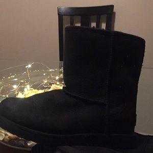 Ugg leather weatherproof